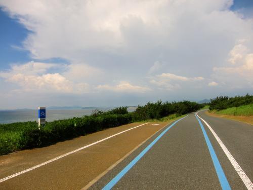 海の中道海浜公園海のサイクリング