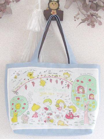 ①水森亜土ちゃんのトートバッグ