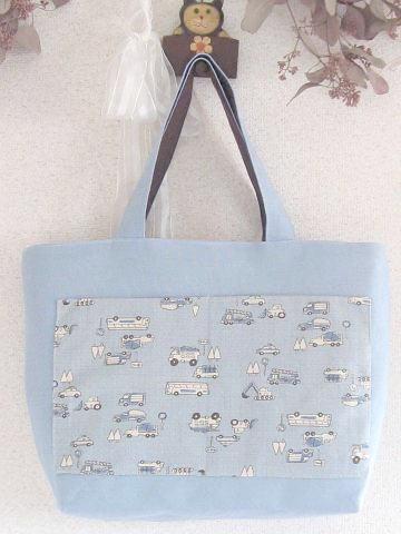 ②水森亜土ちゃんのトートバッグ 裏面