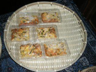 大豆のキッシュ、カボチャの種とひまわりの種