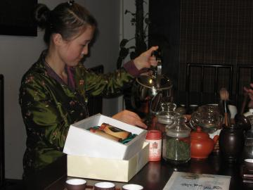 中国茶博物館