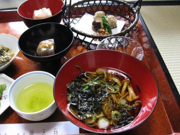 淵の坊 精進料理2