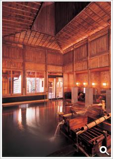 野沢温泉 さかや 大浴場