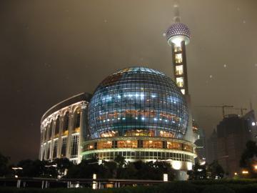 東方明珠塔(オリエンタル・パール・タワー)