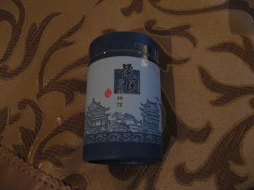 龍井茶の茶葉