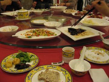 上海ディナー