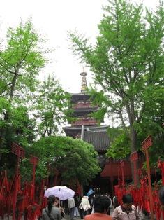 蘇州・寒山寺の普明塔