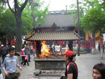 蘇州・寒山寺の大殿