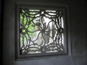 蘇州・留園の花窓