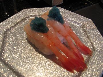 寿司 甘エビ