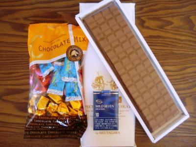 芥川チョコ