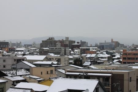 大阪雪景色1