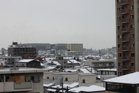 大阪雪景色2