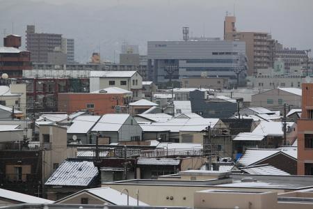 大阪雪景色4