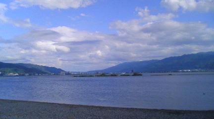 8-18 諏訪湖