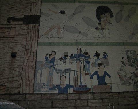 阪急曽根の壁画