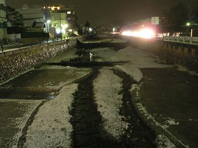 雪の逆瀬川