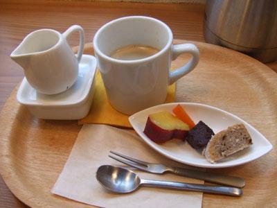 nodoca (ノドカ) プチデザートとオーガニックコーヒー