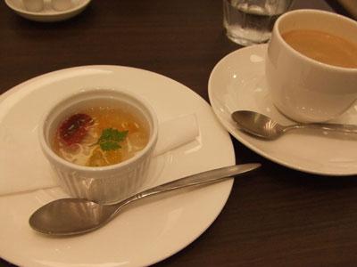 代官山 Celeb de TOMAT(セレブデトマト) ゼリーとコーヒー