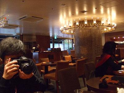 カフェ・デ・プレ 店内
