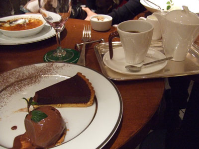 カフェ・デ・プレ ショコラ