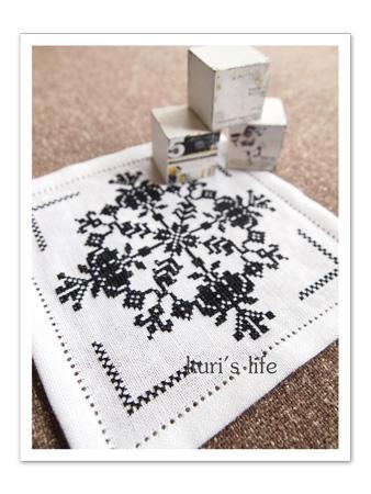 110421(布もの)刺繍ドイリー1