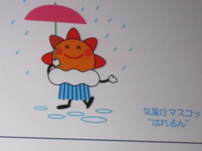 気象庁のマスコットキャラクター「はれるん」