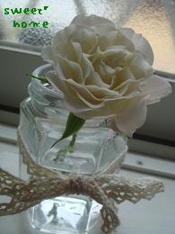 バラ。ホワイトup