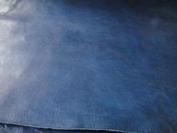 青い革 008