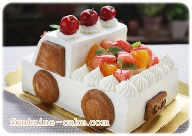 トラックケーキ