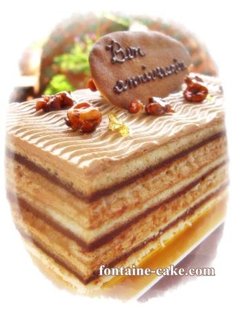 大人なバースデーケーキ