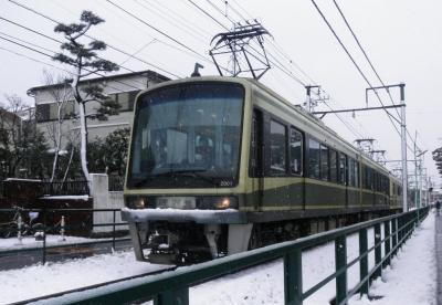 2012.02.28  湘南の雪 江ノ電