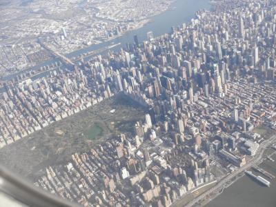 マンハッタン上空