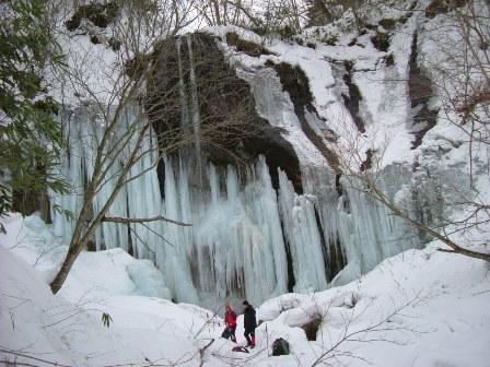 山北沢の滝
