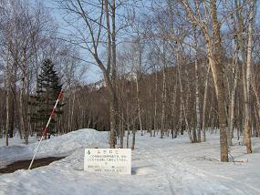 漁岳林道入り口