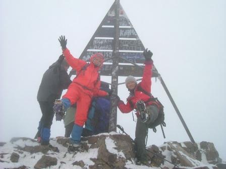 やった~!山頂だ。