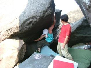 恵山ボルダー2
