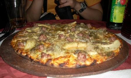 シャンピオンのピザ