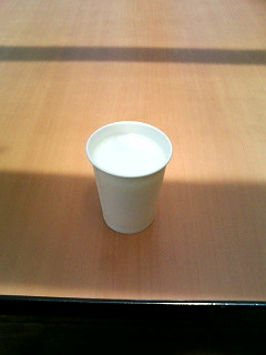 08年07月13日高原牛乳