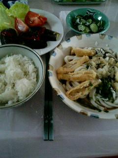 08年08月05日我が家の夕飯