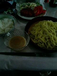 08年08月06日我が家の夕飯