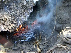 木炭作り8