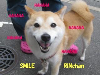 りんちゃん笑顔