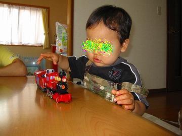 誕生日プレゼントのディズニー電車