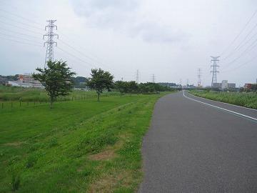 大堀川沿いの散歩道を行く!