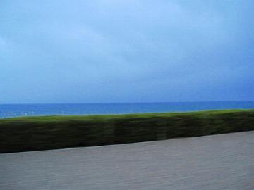 海が見えた。それだけで満足。