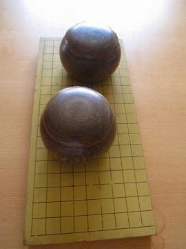 頂きものの碁と盤