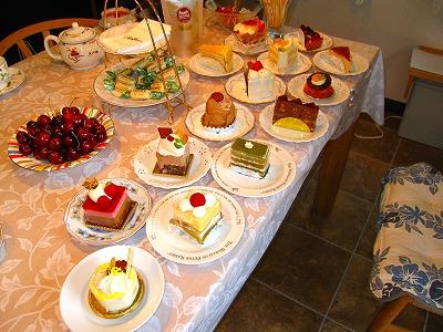 ケーキが沢山♪夢のよう・・・!