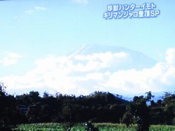 ←この山に?!