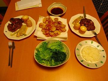 コロスケが作ってくれる料理たち・・・